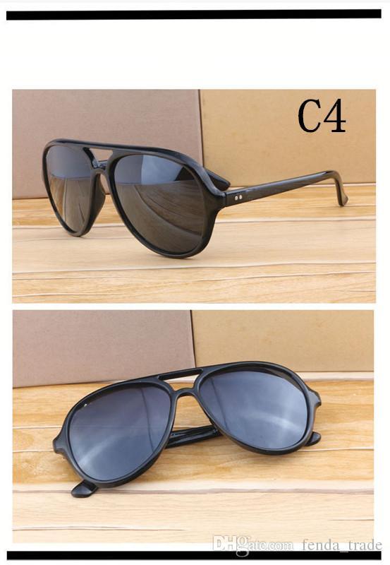 NEW HOT GOOD cerniera in metallo di alta qualità occhiali da sole uomo donna estate designer lente in vetro UV400 plank telaio occhiali da sole moq = 10 pz prezzo di fabbrica