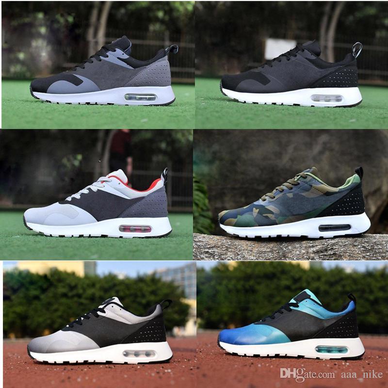 Nike Air Max Airmax 87 90 Con caja de calidad superior Nueva Thea 87 90 AS Tavas Sneakers Zapatos para correr para hombre Zapatillas Casual para