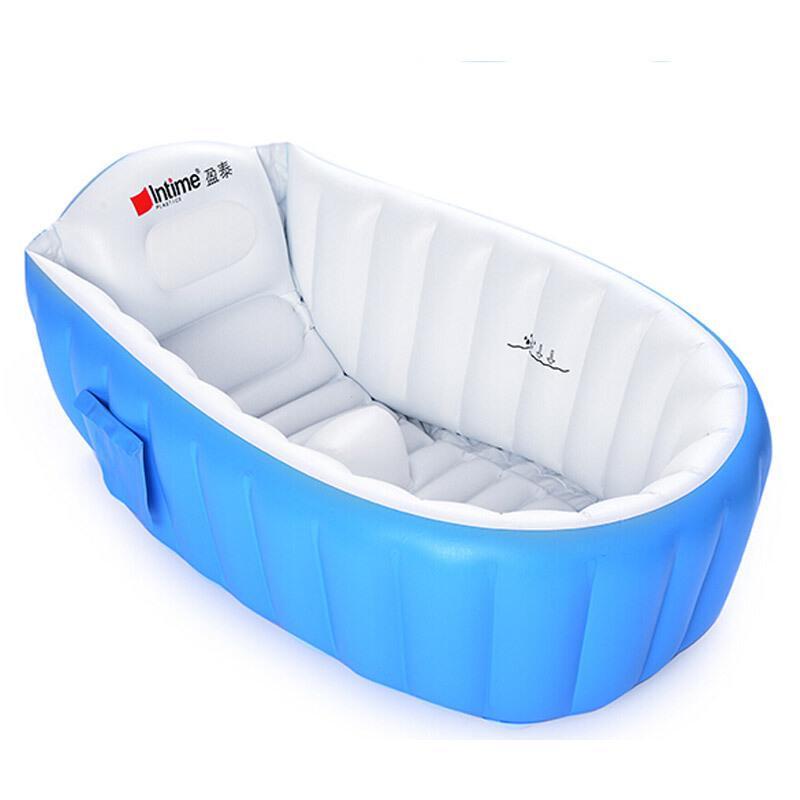 2018 Inflatable Portable Baby Cartoon Basin Foot Bath Bathtub Wash ...