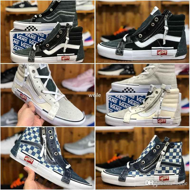 efb7d12c156f 2019 2018 New Vault OG Sk8 Hi SLIP ON CAP LX Women Men Old Skool Casual  Shoes Designer Canvas Zapatillas De Deporte Sport Running Sneakers From  Weile