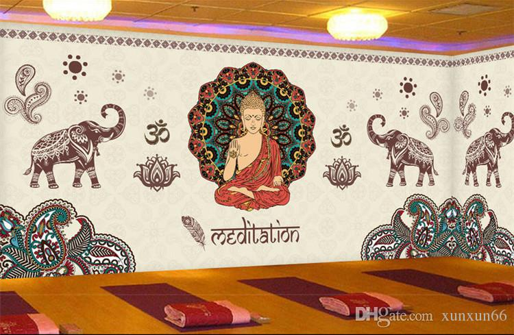 thailand yoga 3d mural joss figure of buddha photo murals 3dthailand yoga 3d mural joss figure of buddha photo murals 3d wallpapers for wall art wall paper wallcovering papel parede rolo wallpapers hd background