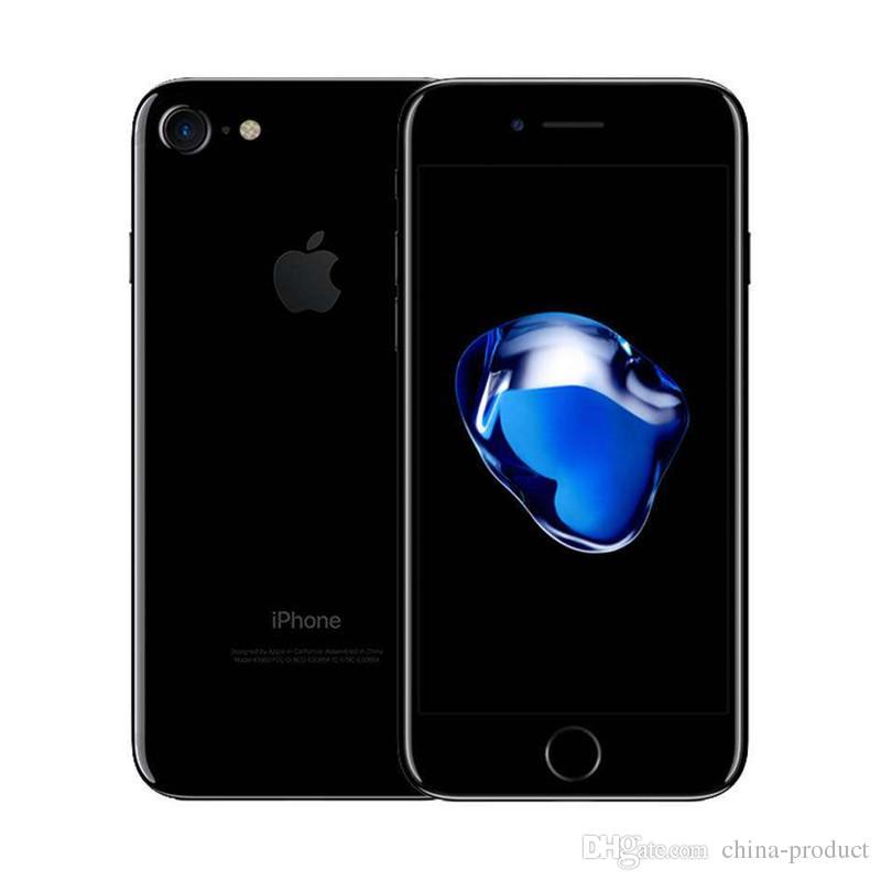 "Original 4.7"" iphone Refurbished iPhone 7 Quad Core 32GB ROM IOS 12MP fingerprint 4G LTE unlocked Apple phone"