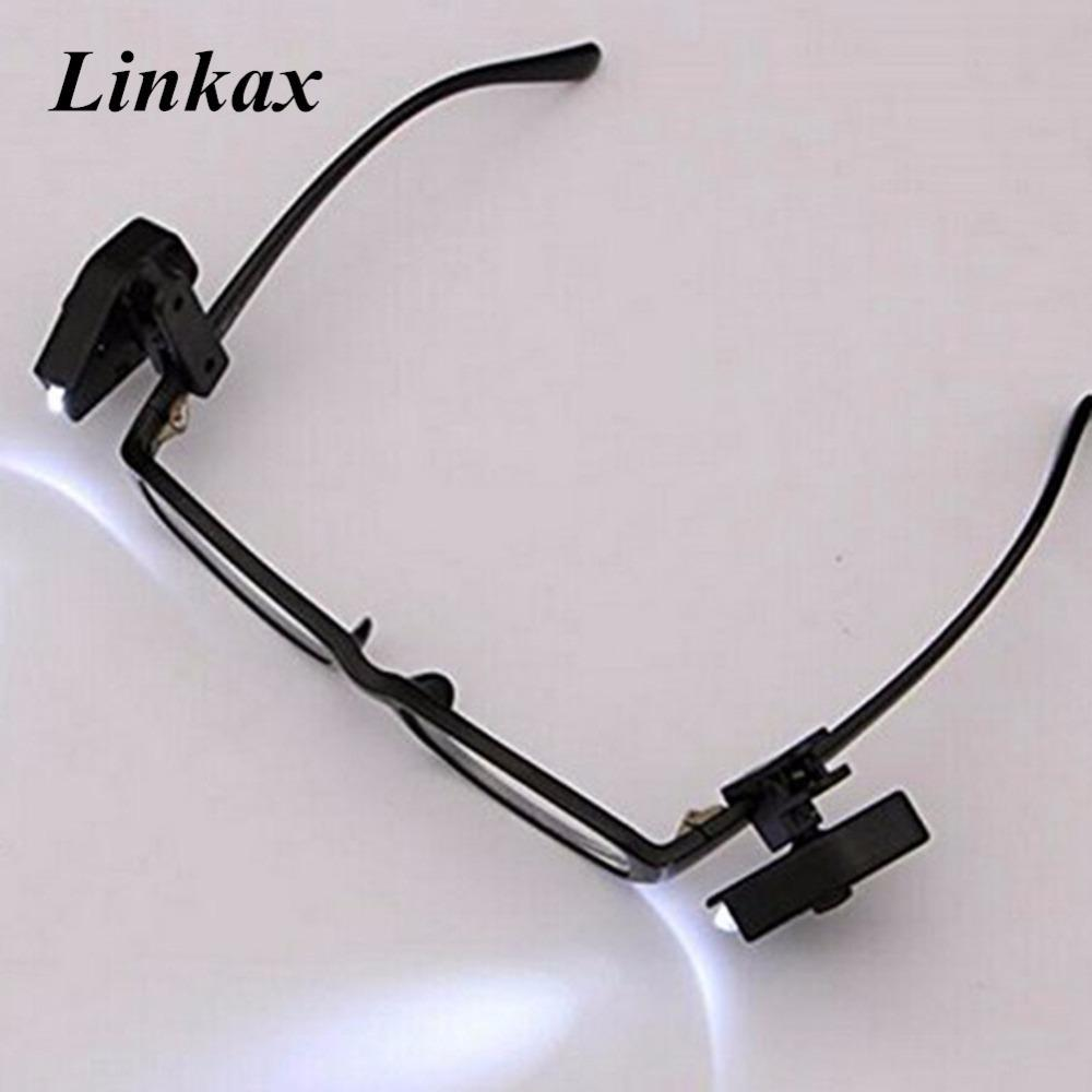 175c4952d75 Mini LED 360 Degree Rotation Clip On Hat Cap Eyeglass LED Headlamp  Headlight Built In Battery For Reading Night Light Use Rechargeable Led  Lantern ...