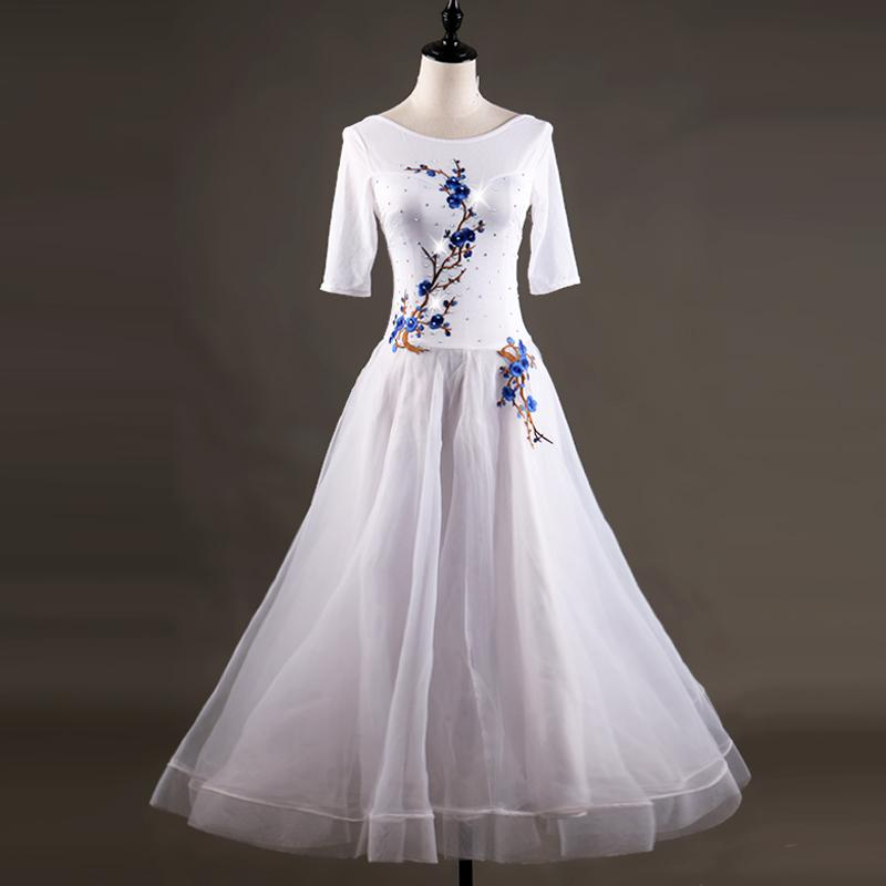 b8786bbaf784 sexy flamenco woman women's modern ballroom dance competition dresses adult  women girls children standard viennese waltz ladies