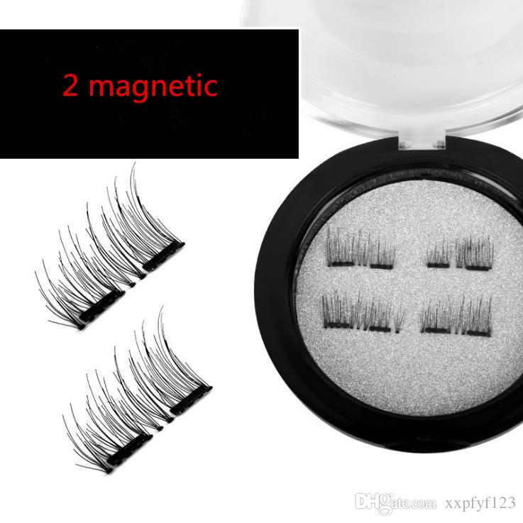 Magnetic Eye Lashes 3D Mink Reutilizável Falso Ímã Cílios Extensão extensões de cílios 3d maquiagem cílios magnéticos a170