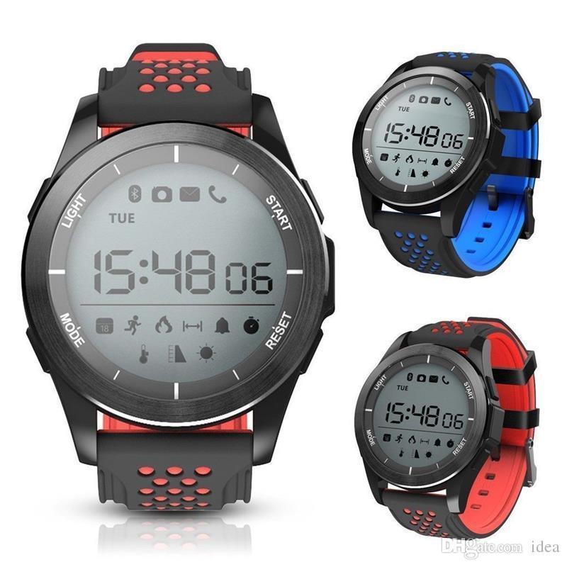 5bfbfef550ffca Fashion NO.1 F3 Smart Watch Bracelet IP68 Waterproof Smartwatches ...