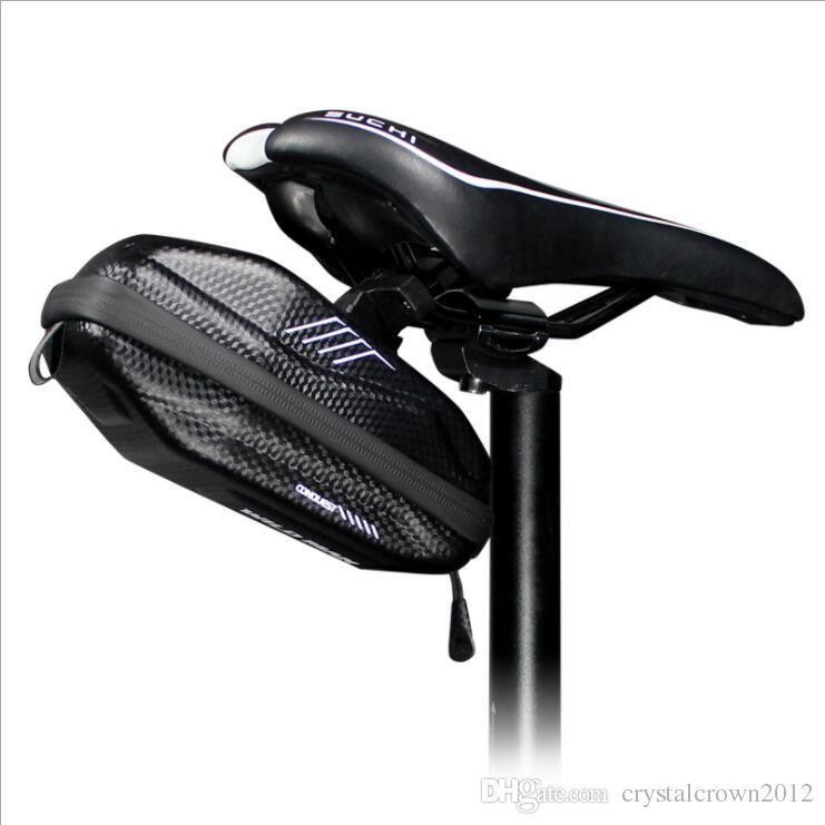 2019 Mountain Bike Tail Bag Cycling Seat Bag Road Bicycle Hard Shell