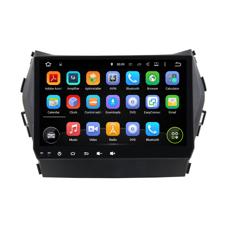 Großhandel 4 Gb Ram Octa Core 9 Android 6 0 Auto Dvd Multimedia Player Für Hyundai Ix45 2014 2016 Mit Radio Gps Bluetooth Wifi Usb Unterstützung Dvr Link