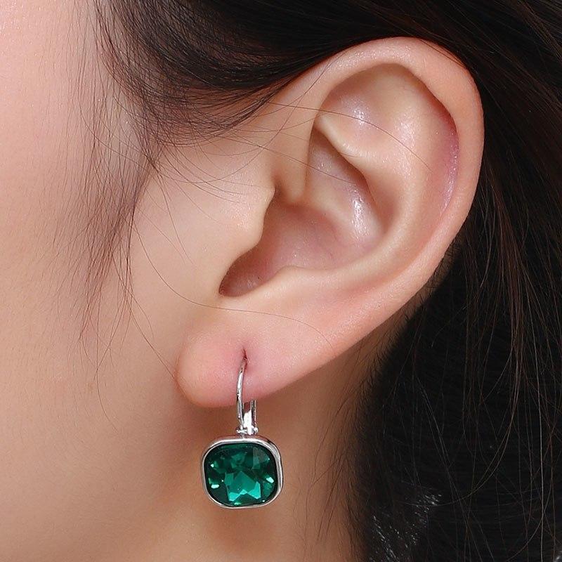 Earrings Jiofree Fashion Rhinestone Statement Alloy Clip On Earrings No Hole Ear Clip For Women Girl Crystal Earring Jewelry Wholesale Buy One Get One Free