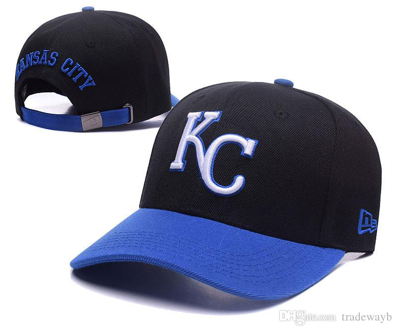 2018 Top Sale Wholesale 2018 Kansas City Royals Fitted Hats Men Womens  Hiphop Sports Cap Basketball Team 47 Fifty Fitted Snapback Headware Custom  Baseball ... 3584719aff6