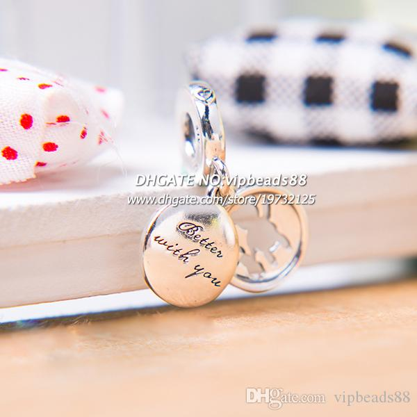 4176397fb 2018 Spring Release Sterling Silver Perfect Pals Dangle Charm With Enamel Dangle  Pendant Charm Fits All European DIY Bracelets Necklaces Pandora 925 ...
