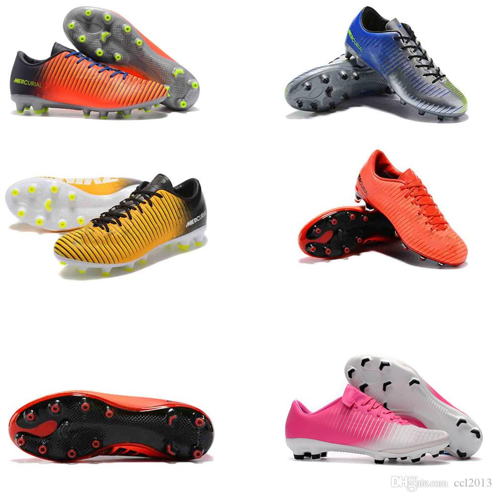 clearance pictures 2018 Mens Womens Mercurial Superfly 11 AG Low Football Boots Neymar Kids High Quality Soccer Cleats for nice online EuFVu9ik