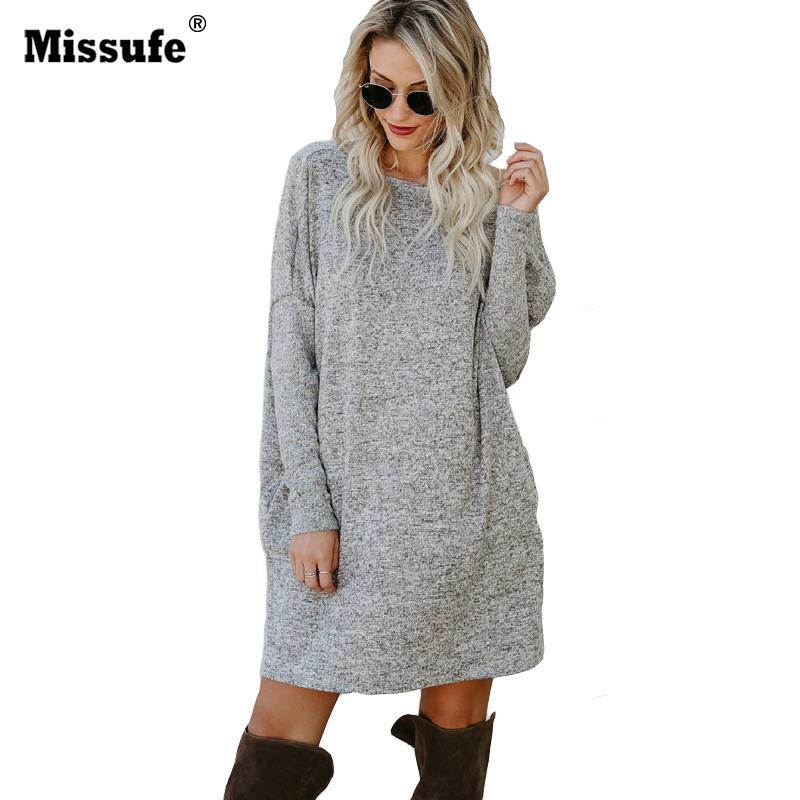aa7af15ebe01 2019 Casual O Neck Long Sleeve Knitted Sweater Dress Women Slim Pullover  Dresses Elegant Wine Red Autumn Winter Mini Vestidos 2017 D18102903 From  Tai03