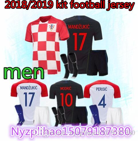 2018 Designed for Home Adult Kit Soccer Jersey MODRIC PERISIC ... 5f9fba17a