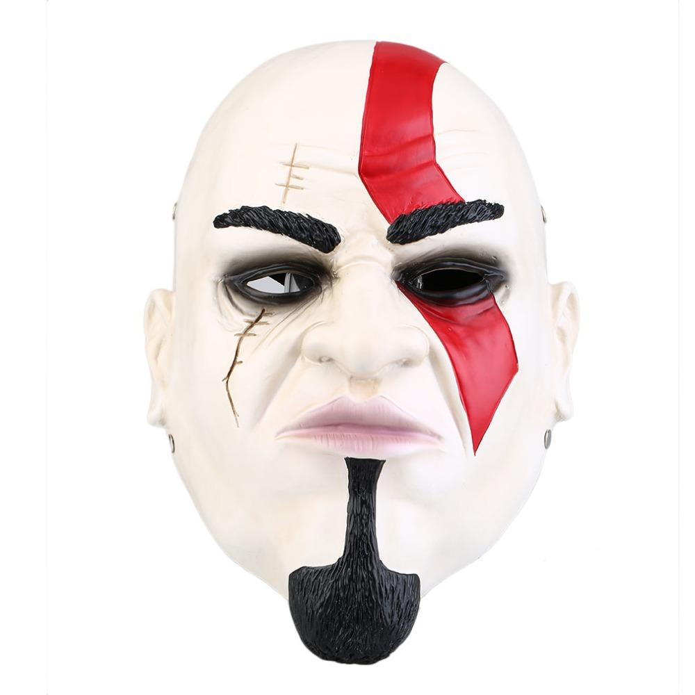 acehe cool god of war mask kratos for party halloween christmas