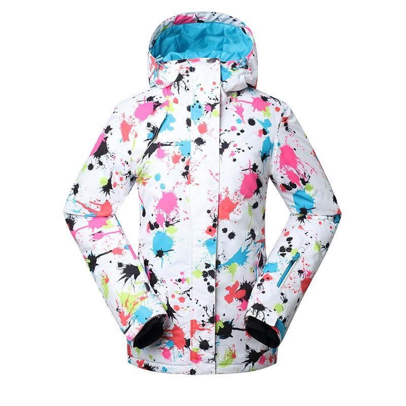68f39a7188 Hot Women Snow Suit Outdoor Sports Snowboarding Clothing 10K ...