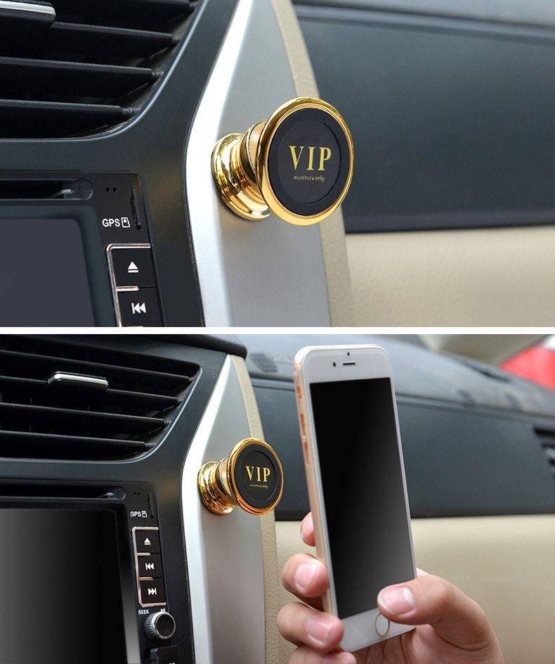 Evrensel Manyetik Araç Montaj Kiti Sabit Cep Telefonu Için Standı MOQ 500 adet Logosu Ücretsiz Nakliye Özelleştirilebilir