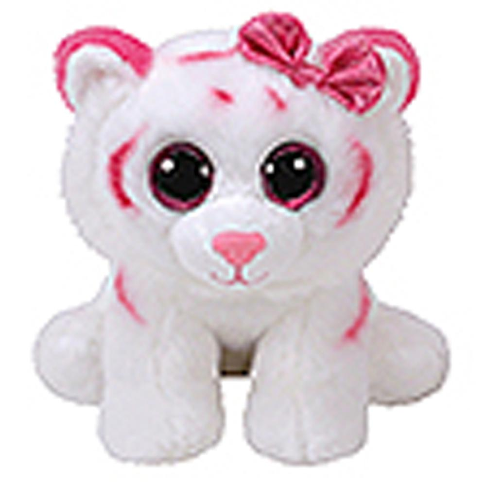 efa9c207b2e 2019 Pyoopeo Ty Beanie Boos 6 15cm Purrcilla The Pink   White Tiger Plush  Regular Soft Stuffed Animal Collectible Doll Toy With Tag From Curd