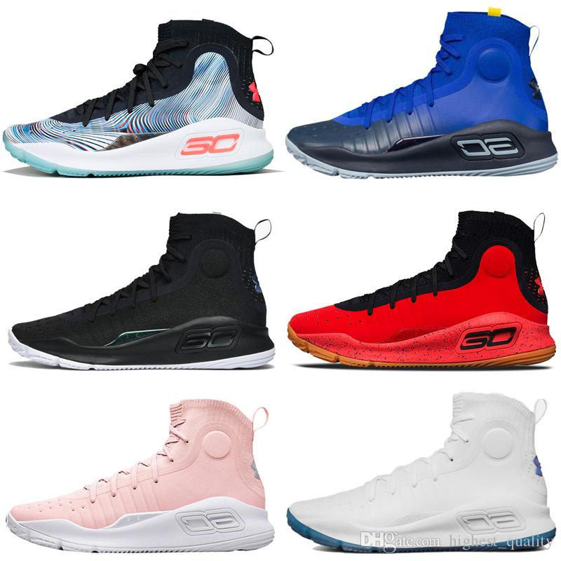 50bd5d5c7142 ... discount under armour ua curry 4 4s mens basketball shoes mvp all star  more range fun