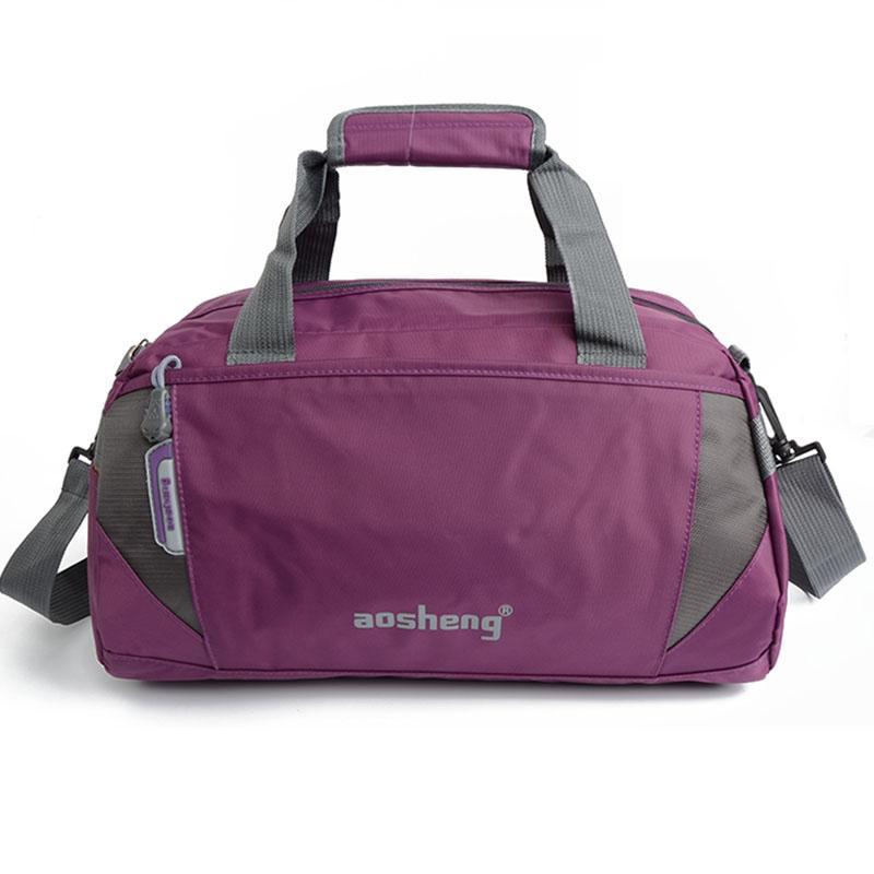 Waterproof Women Men Gym Bag Fitness Handbags Shoulder Bags for ... e9c23db019040