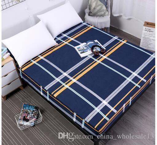 new printing bed mattress cover waterproof protector pad fitted sheet separated water linens with elasticaei 095 tablecloth and chair mattress cover waterproof17 cover