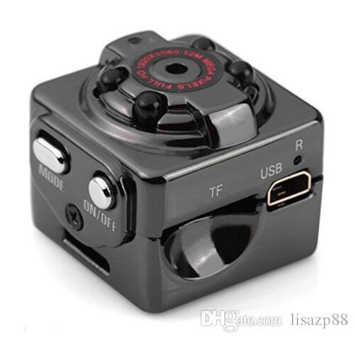 HD 1080P 720P Sport Mini cámara SQ8 Espia DV Video Grabadora de voz Infrarroja Night Vision Digital Cam Camcorder pequeña