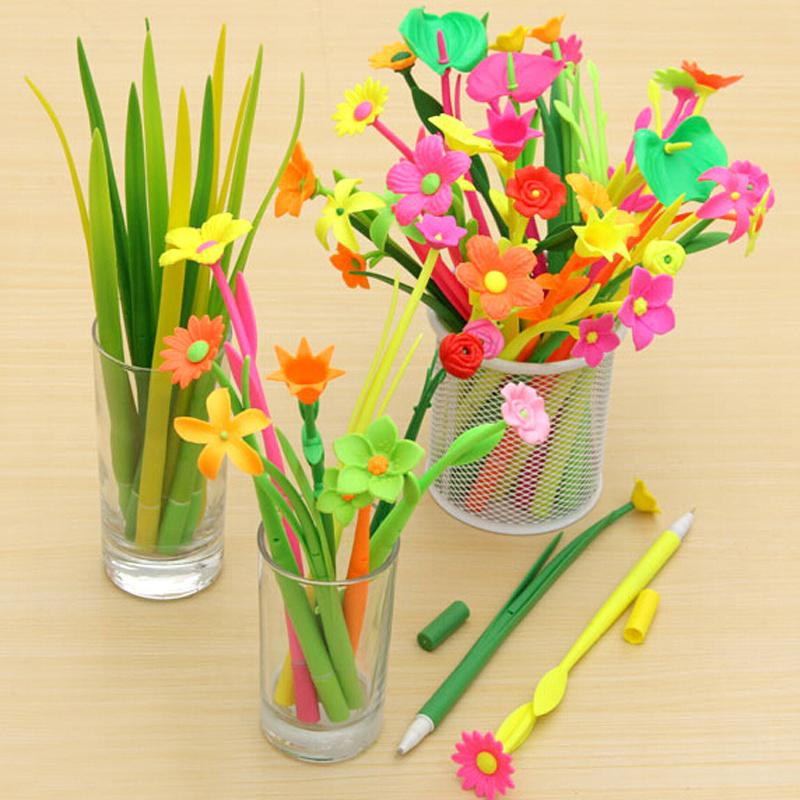 1 Fashion Hot Creative Stationery Bloom Sweet Lucky Flora Flowers ...