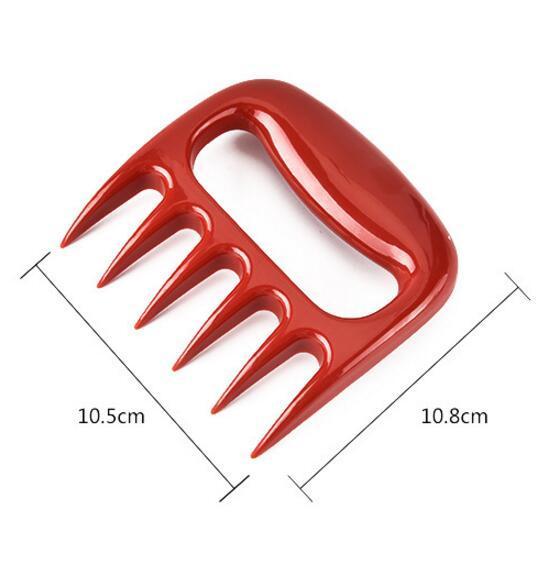 Bear Paws Shredder Claws BBQ Gabel Pull Shred Cut Fleisch Grill Zubehör Essential für Barbecue BBQ Werkzeug Sharp Blades