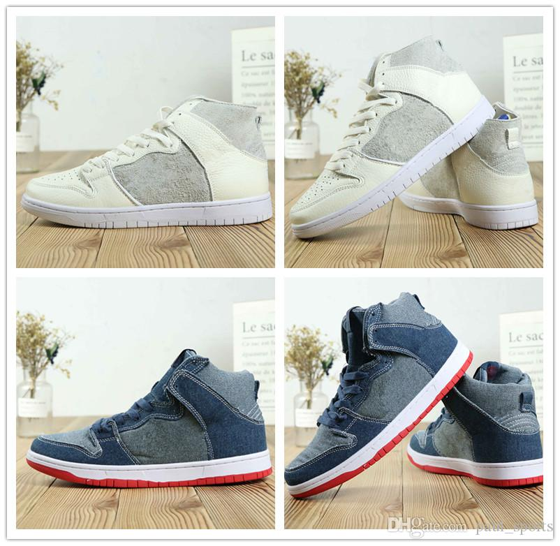 pretty nice ef11f 650a5 Jumpman 1 X Designer SB Dunk High Basketball Shoes For Good Quality 1s Blue  White Red Men Jogging Sneakers Size 40 47 Basketball Sneakers Shoes Canada  From ...