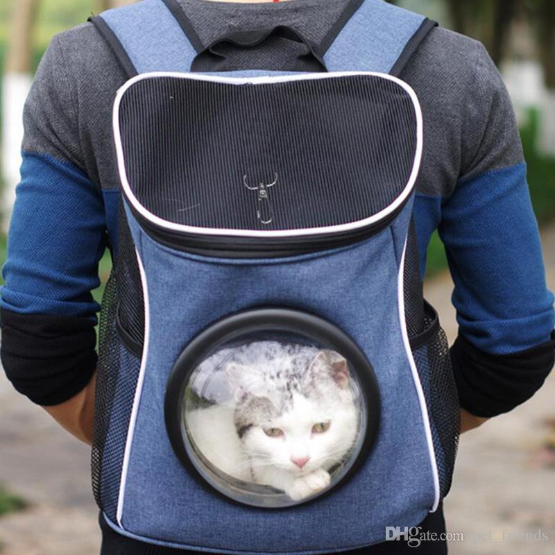 482ab35083 2019 Comfort Dog Carrier Bags Travel Pet Cat Carrier Breathable Mesh Backpack  Bag Portable Double Shoulder Outdoor Bag From Pet_friends, $33.17 |  DHgate.Com