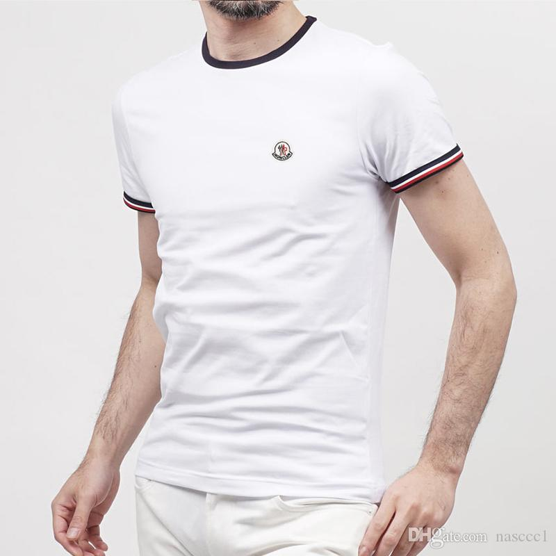 fb0d3be70 Men's T-Shirts Plus Size S-5XL Tee Shirt 100% Cotton Summer Short ...