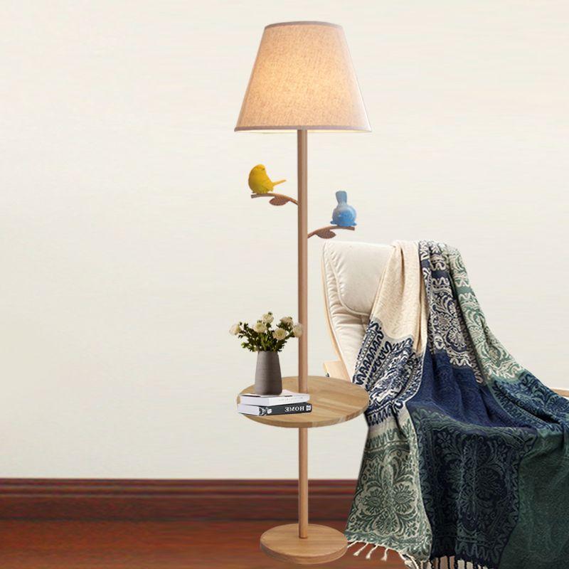acheter bois oiseau lampadaire salon canap table th chambre clairage tude creative europe. Black Bedroom Furniture Sets. Home Design Ideas