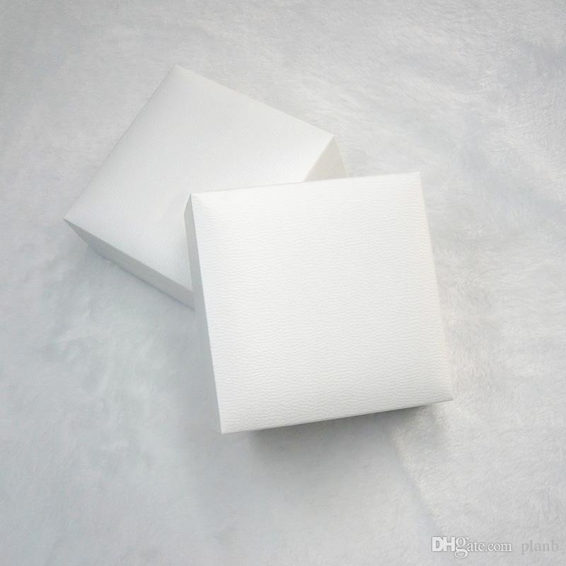 الأبيض مربع الأسود المخملية مجوهرات عرض صناديق التعبئة والتغليف ل باندورا سحر نمط سوار قلادة مربع الأصلي هدية عيد الحب