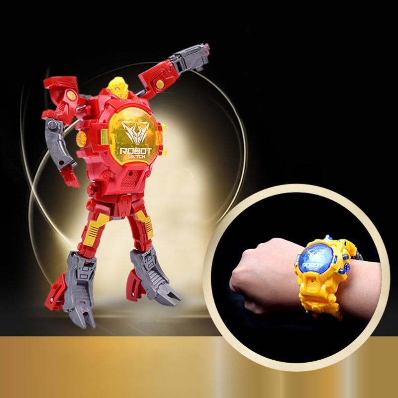 Großhandel 2018hot Verkauf Roboter Changable Für Uhr Spielzeug Kind ...