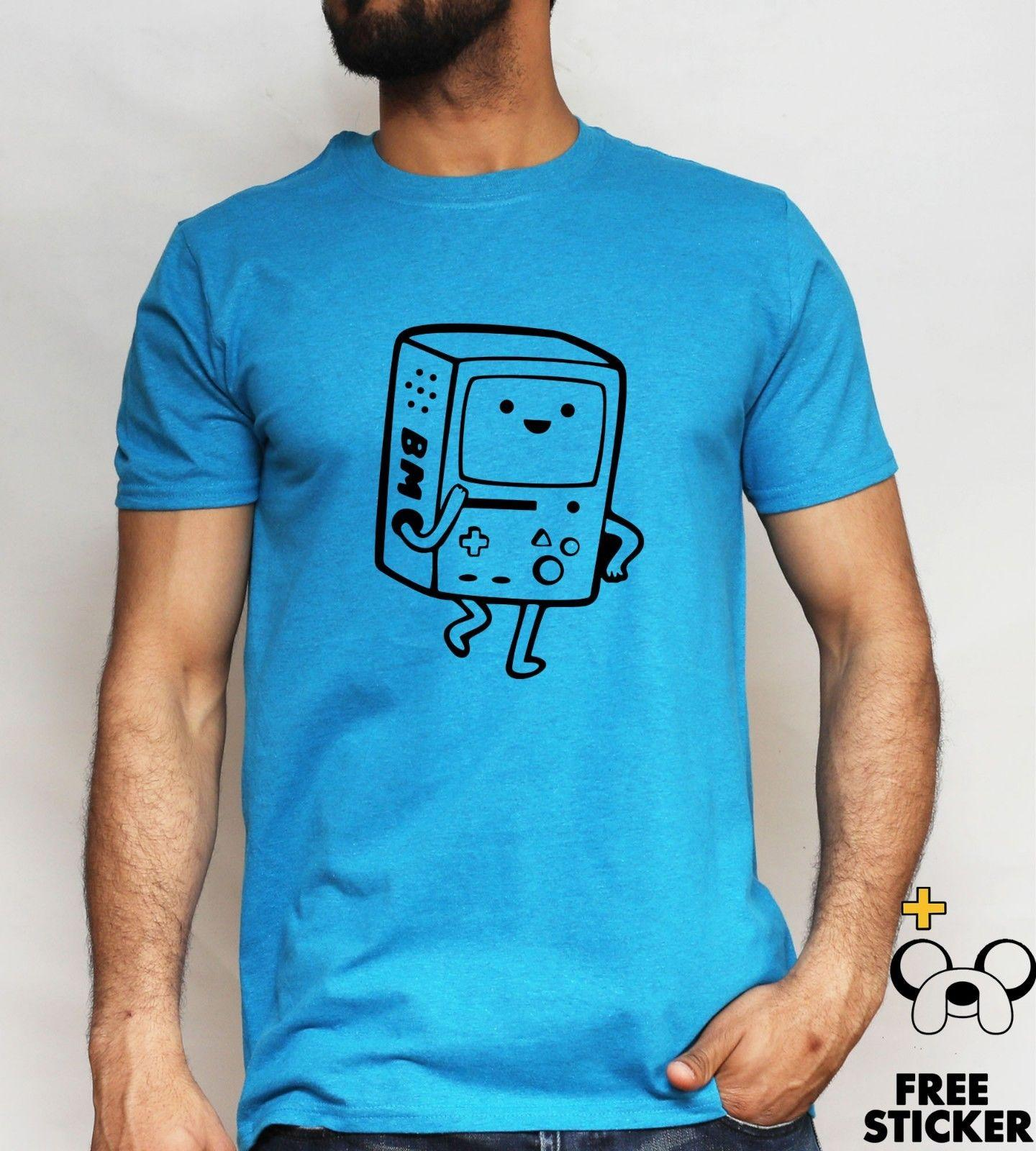 BMO Game T Shirt Finn And Jake Cool Gift Present Tee Top Mens Women S XL  Funny Unisex Casual Tee Gift Cool And Funny T Shirts Buy A T Shirt From  Fat dad 61f9c5a1c