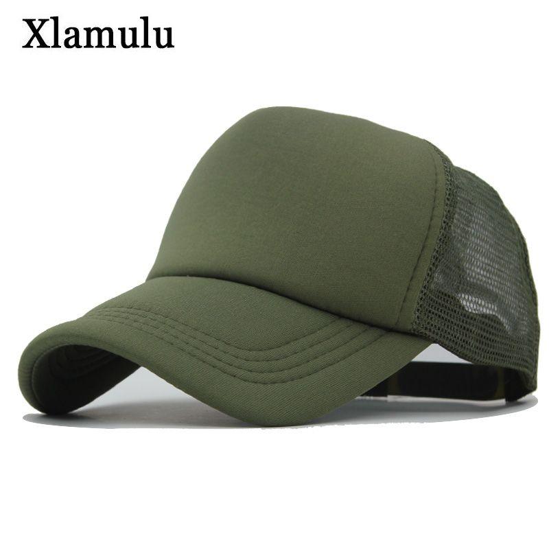 6bcc3dd5cb Xlamulu Men Summer Mesh Baseball Caps Snapback Sun Hat Women Sport Hats For  Men Casquette Bone Gorras Dad Baseball Hats Male Cap Mens Hats Baseball Cap  From ...
