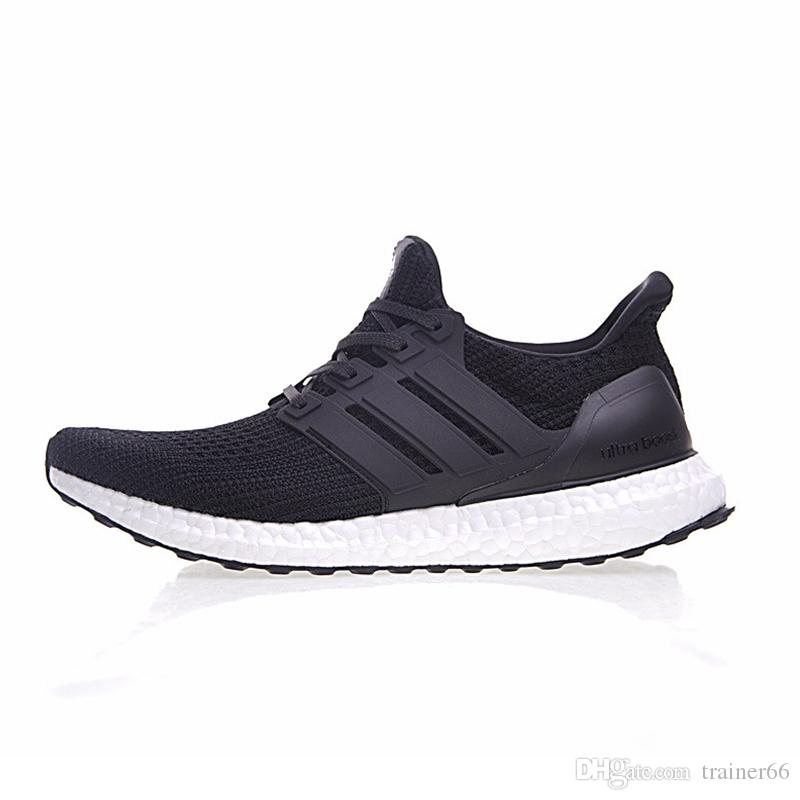 caab3c1a1fc85 ... where to buy 2018 adidas ultra boost 4.0 core primeknit runner triple  black white men women