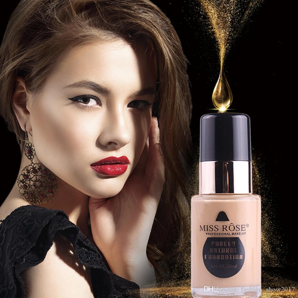 30ml Miss Rose Liquid Foundation Makeup Face Base Corrective Make Up Concealer Eye Cream Bronzer Primer Asia Being Human