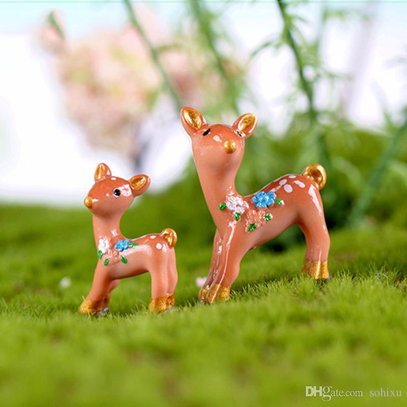 Acheter Résine Artisanat Fées Jardin Miniatures Outils Bonsaï Jardin ...