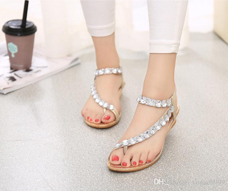 78581c5ac37 Designer Women High Heels Party Fashion Girls Bohemia Dance Shoes Wedding  Shoes Double Straps Sandals Buy Shoes Online Wedge Boots From Vogue9999, ...