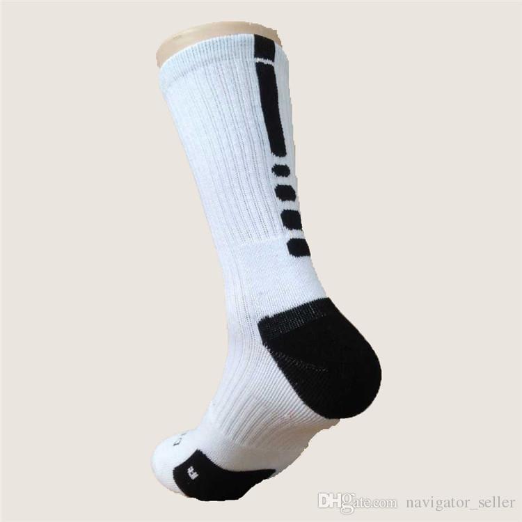 Mode-Fachmann-Auslese-Basketball-mittlere Socken das Knie-athletische Sport-Socken-Männer Kompressions-Thermal-Jungen-Winter-Socken