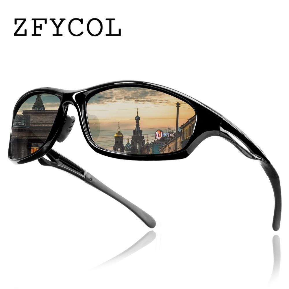 df393baed9 ZFYCOL Brand Design Anti Glare Polarized Sunglasses Men S Driving Sun  Glasses For Men HD Lens Male Goggles Oculos Gafas CX20 Boots Sunglasses  Tifosi ...