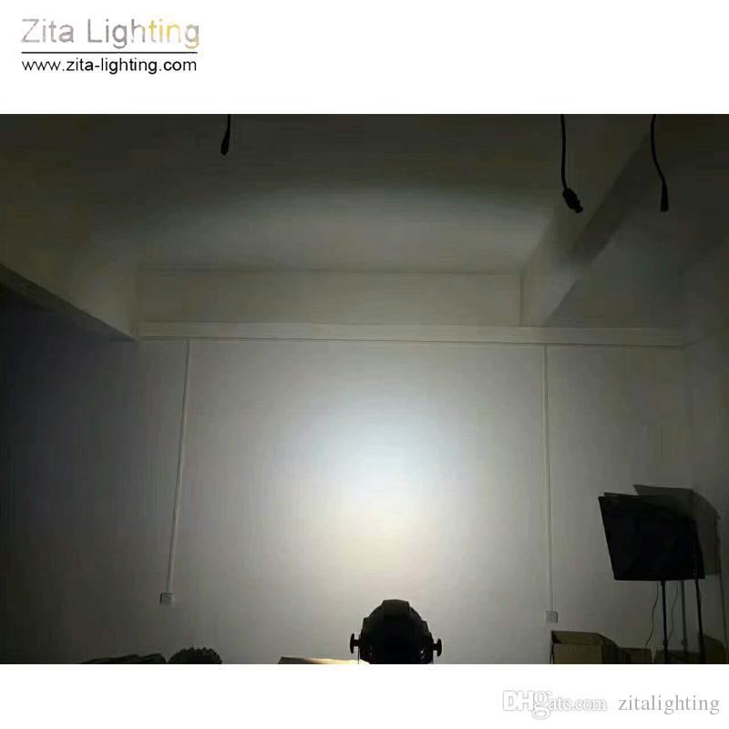 Zita Iluminação CONDUZIU as Luzes Da Par COB Luzes Do Palco 100 W WW / WH 2IN1 DMX512 Arruela Da Parede DJ Par Pode Discoteca Strobe Partido Efeito de iluminação