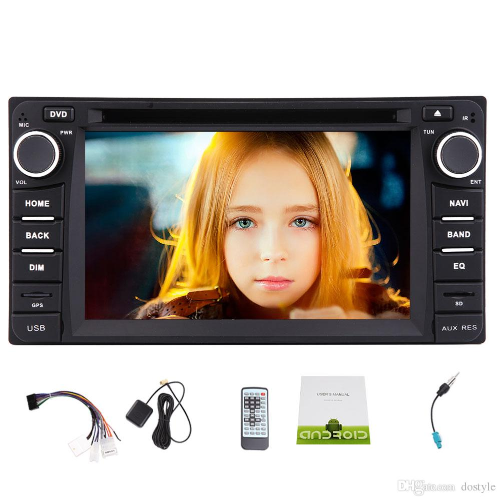 6.2'' Android 6.0 Quad-Core Car DVD Navigation GPS Stereo Special for TOYOTA Corolla In Dash Car Autoradio AM/FM Radio/WiFi