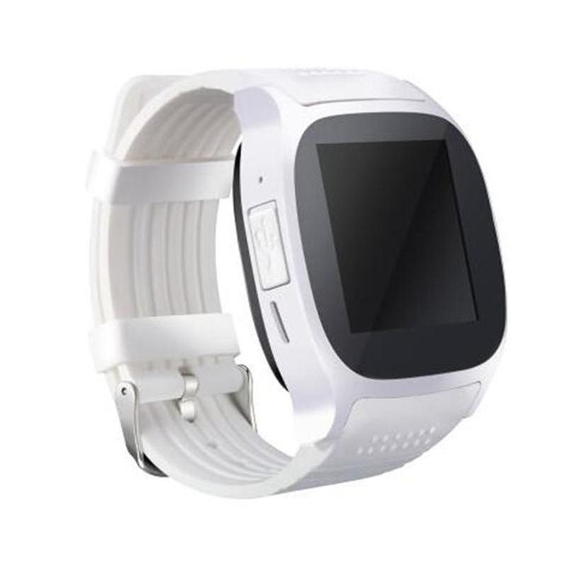 For Android New T8 Bluetooth Smart Pedometer Watches Support SIM &TF Card With Camera Sync Call Message Men Women Smartwatch Watch OTH778
