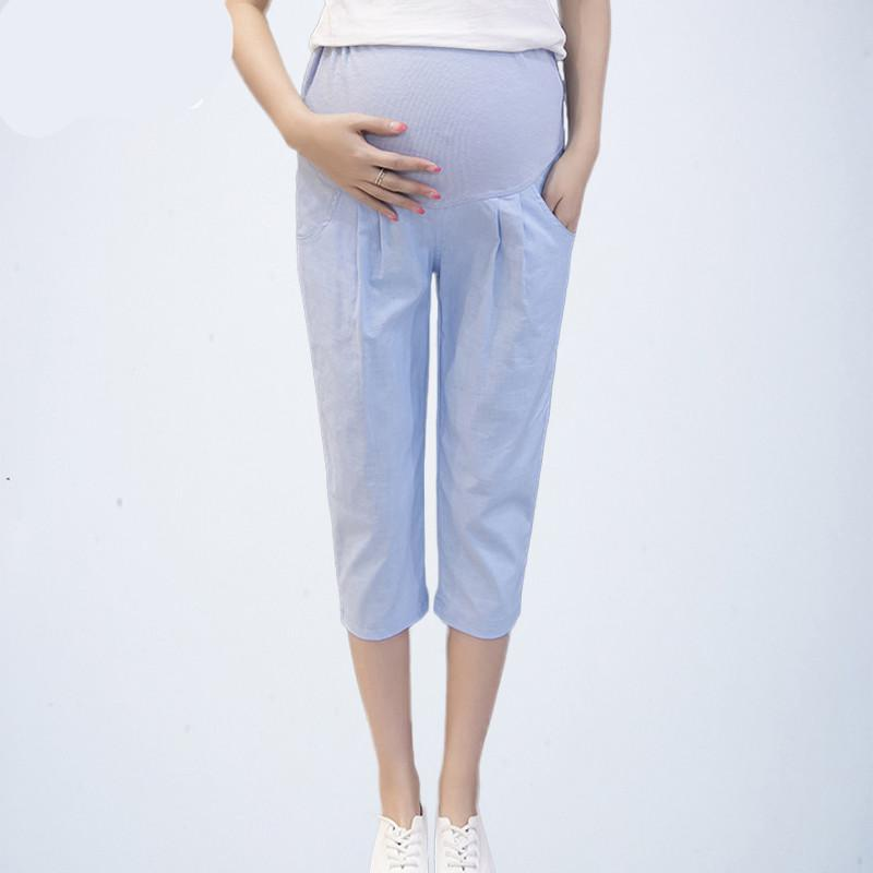 55415d2dfa55a 2019 Summer Maternity Leggings Care Belly Pants Clothes For Pregnant Women  Pregnant Pregnancy Shorts Capris Bottom Trousers From Okbrand, $29.9 |  DHgate.Com