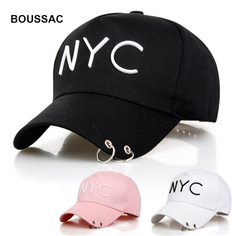 2ae46d0515b Ring Baseball Cap Men Outdoor Sports Golf Leisure Hats NYC Letter  Embroidery Sport Cap For Men Women Hip Hop Snapback KBBH13 Flexfit Caps Cap  Store From ...