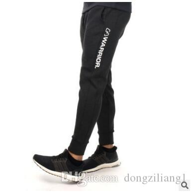 19fb8c01e64 2019 Gym Running Pants Men Athletic Football Training Pants Soccer Sport  Pants Fitness Workout Jogging Quick Dry Sport Trousers From Dongziliang1