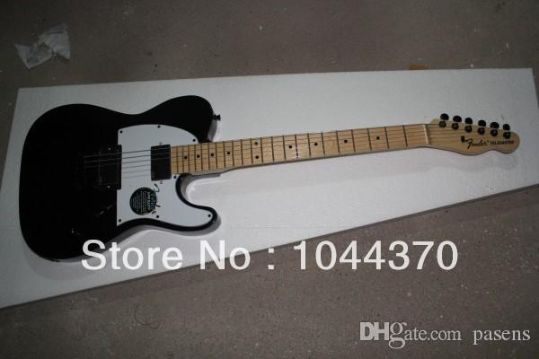 Black Telecaster Signature Electric Guitar Best High Quality OEM Musical instruments