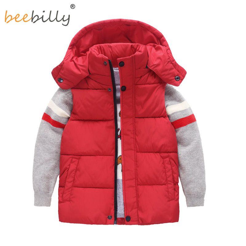 68ce5a1f062a 2018 Winter Kids Vests Jackets Casual Baby Warm Waistcoat Boys ...